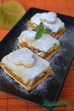 Romanian Desserts, Romanian Food, Romanian Recipes, Sweets Recipes, Baby Food Recipes, Cooking Recipes, Bakery, Sweet Treats, Food And Drink