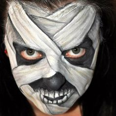 Mummy by Denises Face Painting, Body Art & Special Effects Make-up