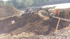 #Excavation taking place for retaining wall... Danville ca