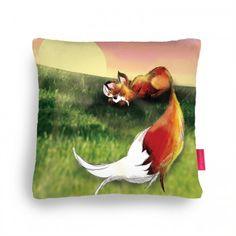 The Wondrous Fox Cushion