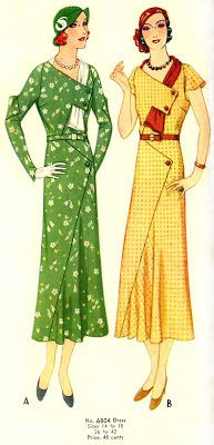 McCall 6804 | ca. 1932 Misses' Dress