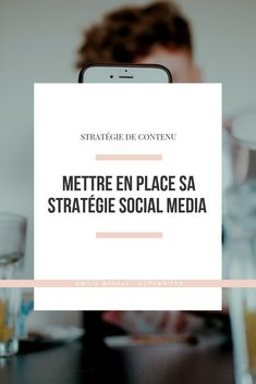 Social media strategy, an essential 📲 - Emilie Mahaux - Starting your communication on social networks is never trivial. It& time to work on your soc - Web Business, Business Marketing, Content Marketing, Internet Marketing, Online Business, Social Business, Social Media Digital Marketing, Social Media Tips, Social Networks