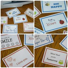 Free Lunchbox Notes Printable