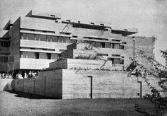 Secondary School, Aesch, Switzerland, 1960-62  (Förderer, Otto, Zwimpfer)