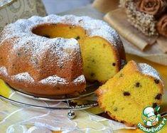 Ванильный кекс с кусочками шоколада - кулинарный рецепт