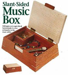 Slant sided Jewelry Box - Woodworking Talk - Woodworkers Forum