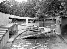 Penguin Pool, London Zoo, by Berthold Lubetkin