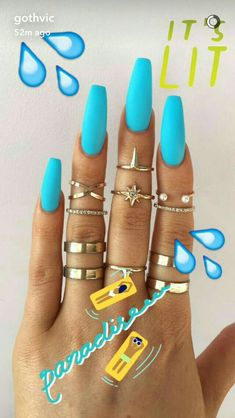 23 Easy Summer Nail Art for short nails Conception d'ongles inexpérimentée Easy Drag Marble Nail Artwork Summer Nails best acrylic nails for short coffins in summer – Nail Art Connect – The best Simple Summer Nails Art Designs For Short Nails – – Makeup Neon Nails, My Nails, Aqua Nails, Nails 2017, Matte Nails, Gorgeous Nails, Pretty Nails, Diy Acrylic Nails, Acrylic Summer Nails Coffin