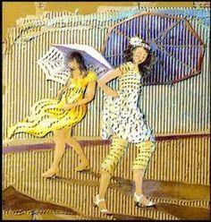 Wet & Windy Day: Françoise Amadieu.