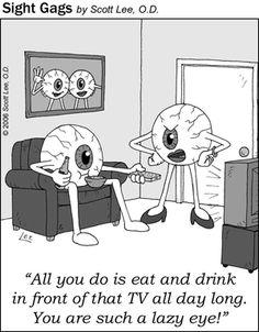 Eye humor!