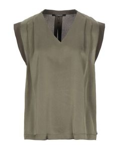 Maison Scotch Top In Military Green Scottish Fashion, Military Green, World Of Fashion, Luxury Branding, Tunic Tops, V Neck, Clothes For Women, Shopping, Color