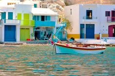 Mylos island in colours, Greece