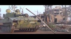 Сирия Алеппо Район 1070 уничтожение! Бой Масированный Обстрел!!