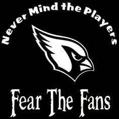 Arizona Cardinals Nevermind The Players by screenprintedtshirts, $12.00