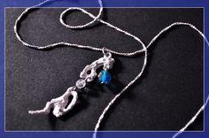 """""""INVERNO"""" Ciondolo in Argento e Swarovski #FilippoVieri #jewelry #winter"""