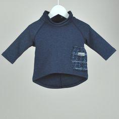 Buboo Stylish Top bluberry POCKET. Stylish Kids Clothes, Stylish Kids, Buboo style, Kids Fashion, Toddler Clothes.