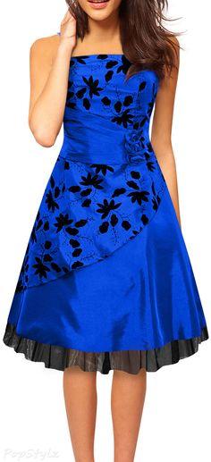 Black Butterfly 'Sia' Satin Essence Formal Dress