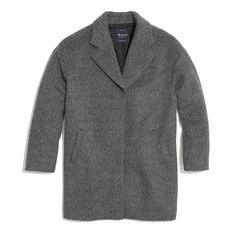 Oversized gray coat from Madewell $298