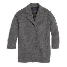 Oversized gray coat from Madewell $298