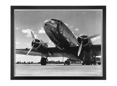 Eichholtz, American Airplane Print, Buy Online at LuxDeco