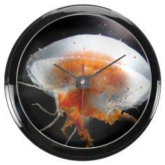 Underwater 14 Aqua Clock & Numeral Options