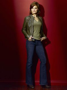 Castle TV Series, Stana Katic as Kate Beckett