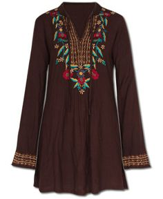 Dharma's Flower Kurta - #embroidered #hippielove