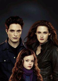 The Twilight Saga Breaking Dawn Part 2: Edward, Bella, & Reneesme Cullen