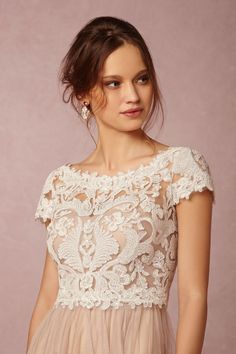 Seville Topper from @BHLDN - put it over any dress with a bottom you like!