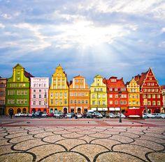 10 cidades coloridas para inspirar sua vontade de viajar (e fotografar)