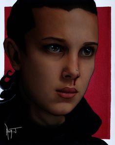 Eleven-Jane Ives Hopper Stranger Things 2 by Alanj.deviantart.com on @DeviantArt