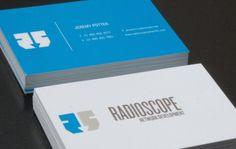 carte de visite exemple radioscope