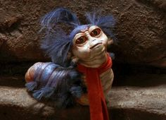 Labyrinth Worm by Brian Froud Labyrinth Goblins, Labyrinth Worm, Labyrinth Tattoo, Jim Henson Labyrinth, David Bowie Labyrinth, Labyrinth 1986, Labyrinth Movie, Science Fiction, Gnomes