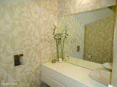 Moradia T4, como nova, Moreira da Maia - Aeroporto | Imovirtual Decor, Furniture, Bathroom Lighting, Alcove, Lighted Bathroom Mirror, Home Decor, Bathroom Mirror, Bathroom, Bathtub