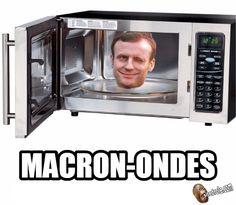 Macron-Ondes... image drole