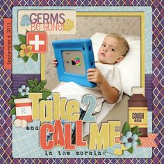 Cute Germs Be Gone Page...
