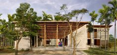 Built by 1+1>2 in tp. Hội An, Vietnam with date 2015. Images by Vu Xuan Son. Located in the southeast of Hoi An – a tourism destination in the middle of Vietnam with ancient quarter and breathta...