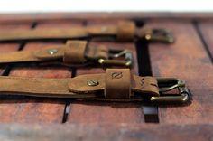 Handmade belts, plain, stitched or buttoned with adjustable length, best answer for your pants.     #men #belts #kjore #pants #design #natural #leather #evolution @kjoreproject
