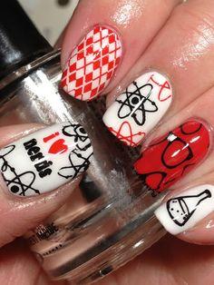 Canadian Nail Fanatic: Digit-al Dozen DOES It Again; Day 7, Geeks | Adorable Geek Nails | @Leila Sabouni