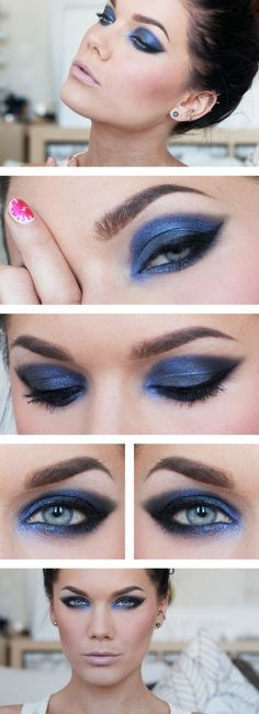 Linda Hallberg - Eye makeup by estelle