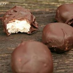 Home made mounds bars