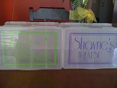 travel treat boxes