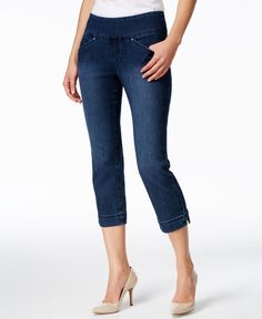2d40d891f17 JAG Marion Pull-On Cropped Skinny Jeans Women - Jeans - Macy s