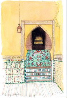 Mur Jaune à Marrakech