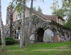 Boulder Manor - Mushroom Houses of Charlevoix, Michigan