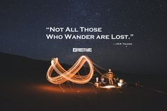 Not all those who wander are lost.  -J.R.R. Tolkien #Inspiration #frostfairs
