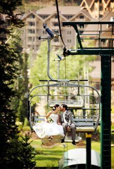 Green   Ivory Mountain Wedding at Deer Valley Resort