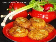 """O reteta cat se poate de simpla, chiar si gospodinele """"incepatoare"""" o pot prepara. Iar ingredientele folosite se gasesc mai tot timpul intr-o bucatarie. Si vreau sa va spun ca aceste chiftele sunt foarte gustoase. Este o mancare de post si….nu numai. Ingrediente : – 8-9 cartofi medii – 3-4 … Jacque Pepin, Romanian Food, Taste Of Home, Foodies, Food And Drink, Potatoes, Cooking Recipes, Yummy Food, Ale"""