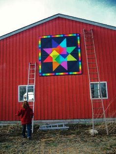 My name is Marilyn Anderson with American Barn Quilts & I am glad to finally be an official FarmGirl. :D I thought this would be the perfect site to use to ...