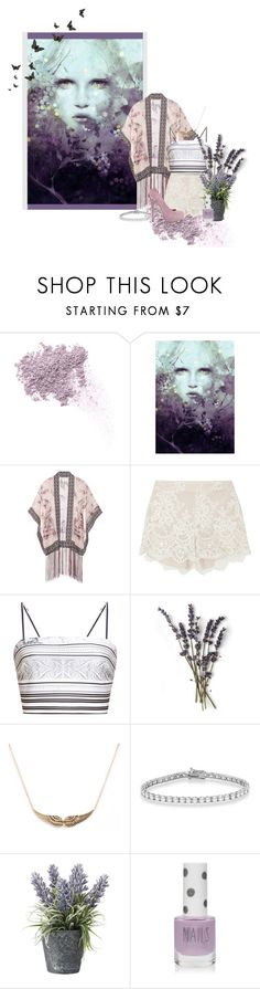 """""""80. Lavender inspired"""" by catarinasoares18 ❤ liked on Polyvore featuring W3LL People, Anna Sui, Disney, Alice + Olivia, Clover Canyon, Allurez, OKA, Topshop and ShoeMint"""